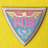 FREE SHIPPING, Custom PCS eagle 100% embroider patch, MOQ 1 PC
