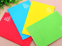 36PCS Korean Stationery Beijing Memo Pad Notepad Paris Creative A4 Diary Notebook