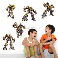 """Free Express 160x90cm(63""""x35"""") Transformers Wall Stickers for Kids Rooms DIY Adesivo de Parede Espelho Bathroom Home Decoration"""