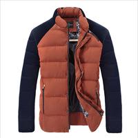 Free shipping winter Thick warm padded men parkas boutique men's winter coat men downs  jacket 100% duck down  N008