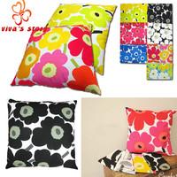 FREE SHIPPING WHOLESALE 2014 new marimekko pillow case women pillowslip vintage designer high quality with famous brand logo