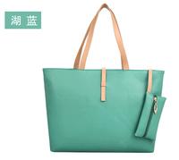 Promation! Hot! Vintage Simple PU Leather Bag Handbag Candy Color Fashion Lady Ladies Shoulder Bag Women's Messenger Bags Tote
