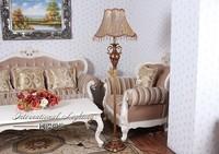 Free shipping Europe type Retro bedroom floor lamp floor lamp classical creative lighting remote control studyfloor lamp31W-40W