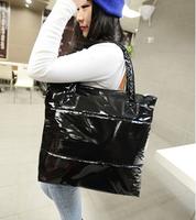 FREE SHIPPING Women Handbag Winter Cotton Handbags Single shoulder bag handbag cotton-padded jacket Woman Bag