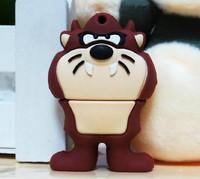 New Cartoon Looney Toons Devil Lion model usb 2.0 memory flash stick pendrive genuine 4gb/8gb/16gb/32gb freeshipping