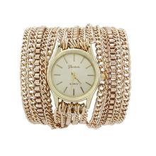 Hot Sale! Summer Fashion Latest Popular Hawaiian Style Sparkling Quartz Manual Chain Watches Women(China (Mainland))