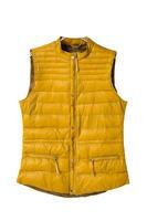 Autumn Winter New Fashion Ladies' Elegant Zipper Pocket Down Vest Cotton Padded Casual Slim Jacket Outwear Coat Brand Tops