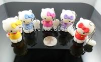 New Christmas Hello Cats model usb 2.0 memory flash stick pendrive genuine 4gb/8gb/16gb/32gb Freeshipping