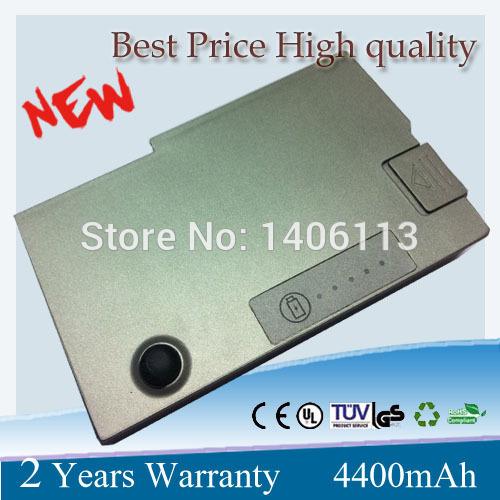 4400mah 6 cells Laptop Battery For Dell Latitude D500 D505 D510 D520 D530 D600 D610 for Inspiron 510m 600m Precision M20(China (Mainland))