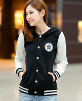2014 new arrival women baseball jacket lovers sports hoodies cardigan jacket Freeshipping S-XXL
