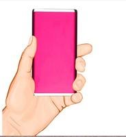 10pcs 5600mAh Power Bank celular Pack Portable Super Slim External Battery backup Charger for mobile phone
