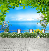 10X10ft Fairy Tale Sea Scenic Studio Background Muslin Computer Printed Photography Backgrounds Vinyl Backdrop