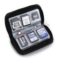 100pcs/lot Mini 22 Slot SD SDHC MMC CF Micro SD Memory Card Protector Holder Storage Pouch Case Holder Wallet Portable Bag Box