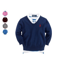 Spring autumn KID pullover SWEATER new 2014 baby clothing girls boys unisex cardigan clothes children Knitted sweater 3-12 years