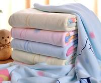 New Arrival Natural Microfiber Cartoon Children Bath Towels Shower Bathroom Towel for Kids Baby Thick Soft 105x105cm HT20