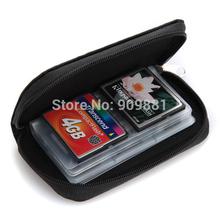Big Discount!!! 500pcs/lot Mini 22 Slot SD SDHC MMC CF Micro SD Memory Card Protector Storage Pouch Case Holder Portable Bag Box(China (Mainland))