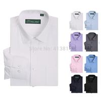 New Men's brand shirts Long sleeve Twill dress shirt men Classic Business Formal shirts Camisas Masculina plus size