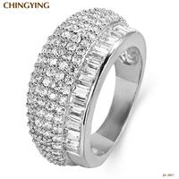 JA-2017W,Wedding rings Jewelry Sapphire Jewelry ring anel Bijou rings for women semi joias 925 silver-plated