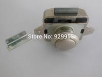 Keyless Belt Pull Push Button Rv Drawer Cabinet Lock Matt Nickel motor home caravan boat lock