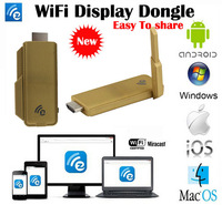 sales 2014 new EzCast wifi display Dongle  DLNA Miracast Airplay MirrorOP better than chromecast support windows ios andriod
