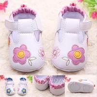 Free shipping 2014 spring and summer baby shoes toddler PU soft bottom non-slip bottom circle of ladies calcados de bebe sapatos