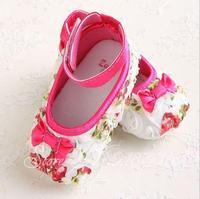 Free shipping Spring 2014 explosion models selling baby shoes toddler shoes soft soled shoe flowers bota infantil tenis feminino