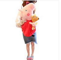 Peppa pig plush doll children toy gifts pepe pig baby pink pig toy