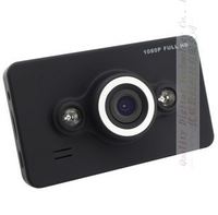 Car dvr HD 1920*1080P HDMI 2.7'' screen 140 degree view angle car DVR vehicle Dashboard camera free shipping D6 with  box