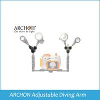 ARCHON Adjustable Diving Arm Gopro Mount Bracket Diving Video Diving Arm Camera Bracket fit for d32vr d11v ect Z11 Freeshipping