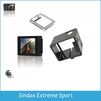 2014 Gopro Case GoPro HERO3 LCD BacPac Display Viewer Monitor Non-touch Screen + Cover + Standard Frame Mount for GoPro Hero 3