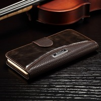 """5pcs Luxury wallet Leather Case for Iphone 6 6G 4.7"""" inch supreme book style Leather cover with card holder Free shipping"""