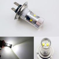 2x H7 30W CREE LED High Power Fog Lights DRL Headlight Xenon White Yellow Free Shipping