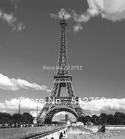New arrival Eiffel Tower France Polyester Shower Curtain 180x200cm bath curtain ,high quality waterproof bath screen