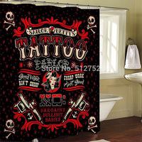 Bathroom products Fabric Shower Curtain 180x200cm bath curtain bathroom curtain shower waterproof w/ shower hooks imiuu