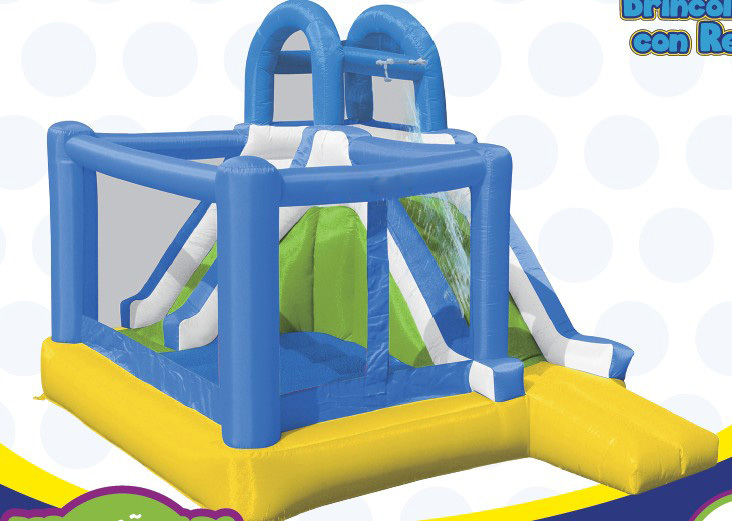 Inflatable Bouncer house with water slider + Free shipping charge=Bottom Price(China (Mainland))