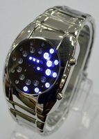 Promotion Fashion Japan Inspired Flashlight Ladies Women LED Watch