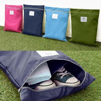 Водонепроницаемый прачечная обуви путешествия чехол для хранения портативные сумка сумка на молнии организатор прямая поставка HG-1328 \ br