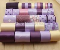 36 yards/ set craft satin and grosgrain ribbon and lace ribbon for ribbons DIY ribbons set