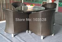 2015 hot selling wicker/rattan  garden coffee shop furniture