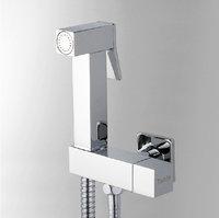 Chromed brass bidet sprayer set Bathroom Faucet Accessories hand shower seat shower hose 9107