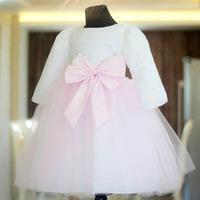 1 2014 new long sleeve flower girl dresses for weddings girls pageant dresses prom dress children vestido de daminha 2015