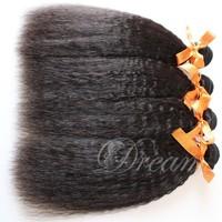 Hight Quality Products Kinky Straight Brazilian Virgin Human Hair Weft GaGa Hair Best Selling 3pcs/lot Soft NoTangle No Shedding