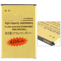 4200mAh High Capacity Business Gold Replacement Battery for Samsung Galaxy Note III / N9000 / N9005 / N900A / N900 / N9002