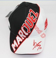 Free shiping Wholesale embroidery 93 baseball cap hat motorcycle racing cap sport baseball cap Glof for Marc Marquez white