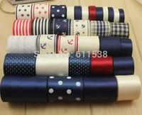 printed grosgrain ribbon and ribbon embroidery DIY handmade craft ribbons set 33 yards
