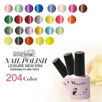 6pcs shellca nails 233 colors honey girl gel shellac nails factory gel shellac nails free shipping shellac nails