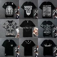 Unisex Women/Men 3d T-Shirts  bandana KTZ religion egypt  graffiti Printing skull short-sleeve Tees Tops