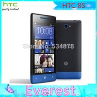 Original HTC Windows Phone 8S Phone A620e 3G Wifi GPS 4.0'' Touch 4GB Storage 5MP Camera Unlocked Phone Free Shipping