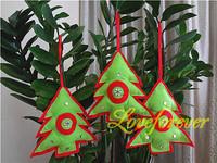 100% Handmade Christmas Tree Ornaments Xmas Favor Favour Decorations