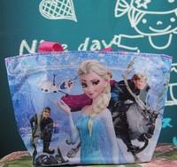 20pcs/lots 2014 New hot arrival Frozen shopping bag waterproof bag nylon bag